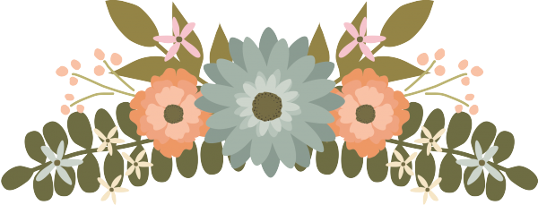 Floral clipart flower clipart wedding clipart graphics clip