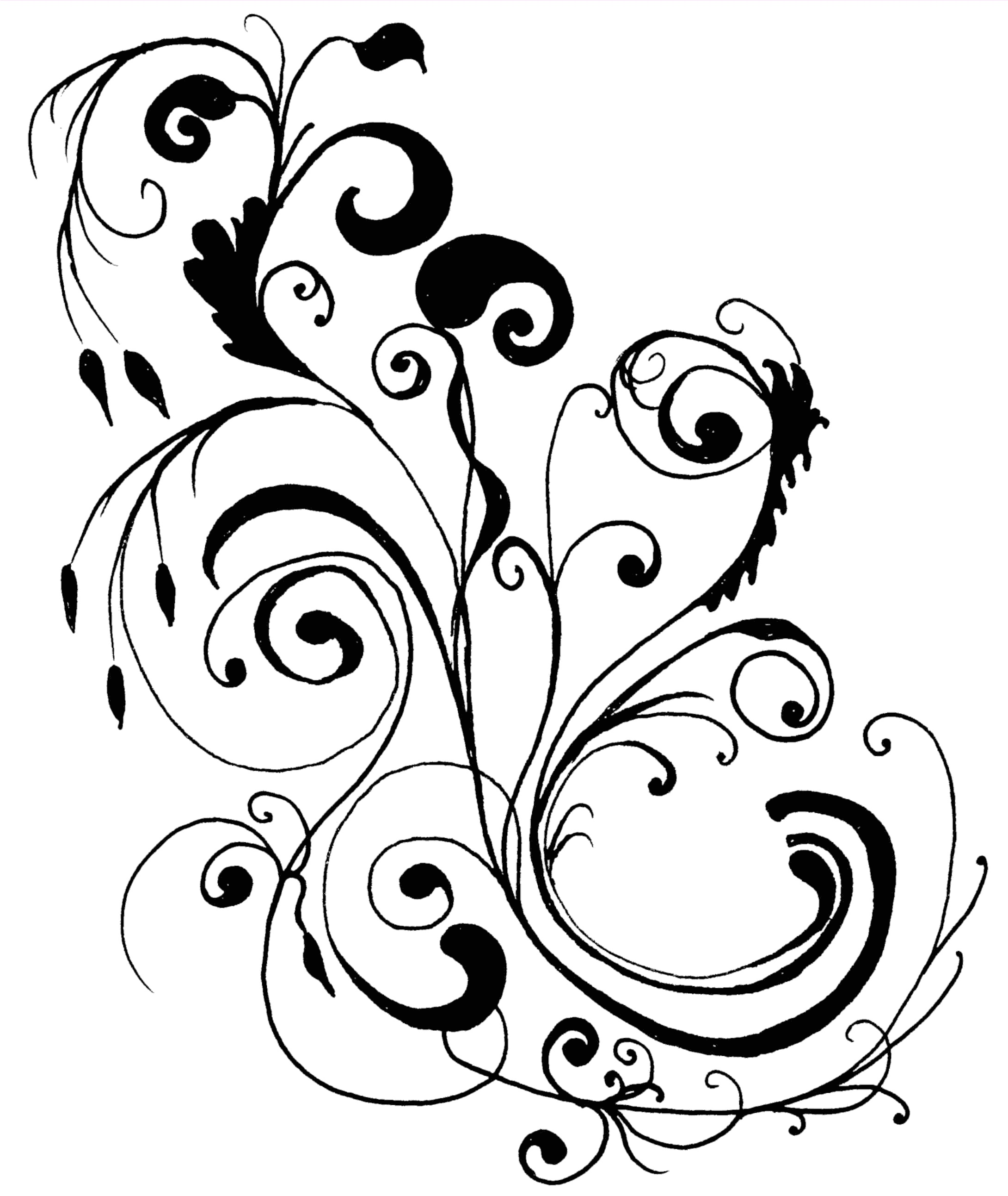 Floral flower clipart free clipart images 2