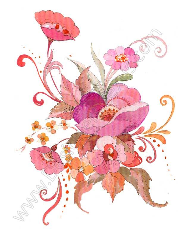 Free downloads floral clip art