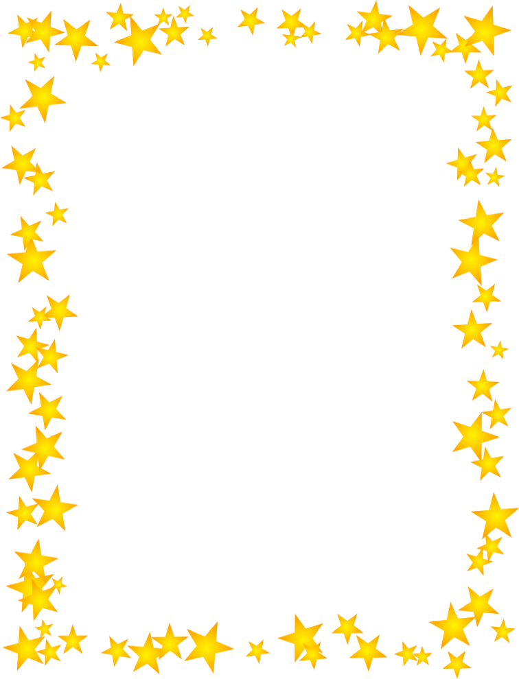Gold star free clip art borders stars free clipart images image 28261