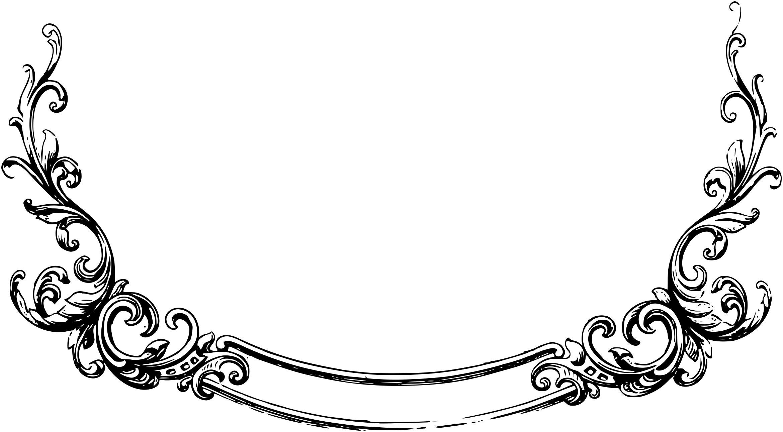 Scrollwork scroll clip art 2