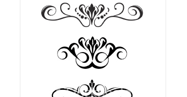 Scrollwork scroll clip art 3