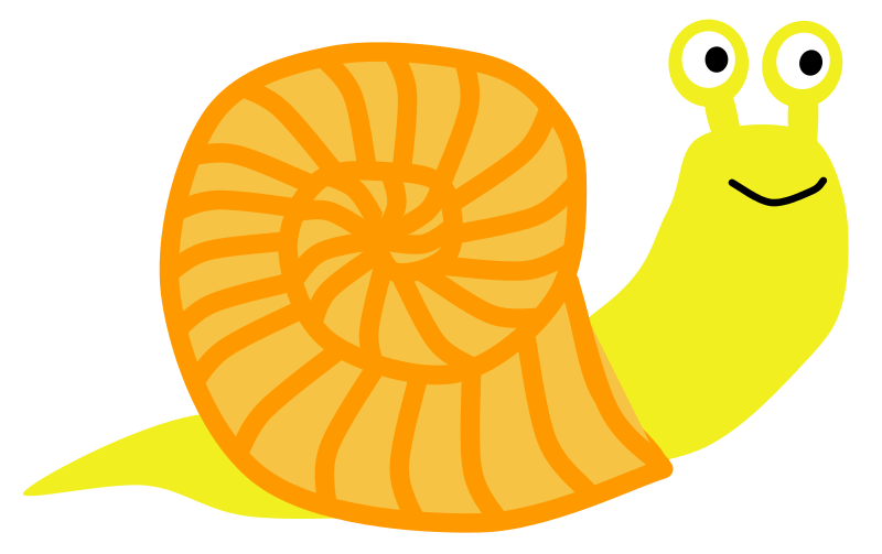 Snail classroom clipart