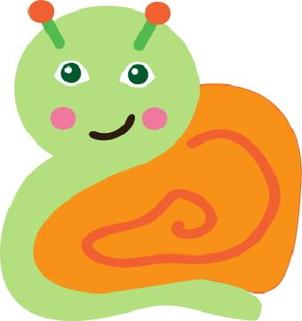 Snail clip art 2