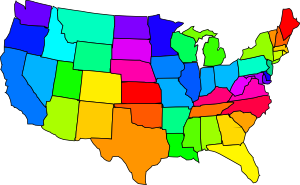 Us Map United States Map Outline Clip Art Free Vector For Free - Us mapl