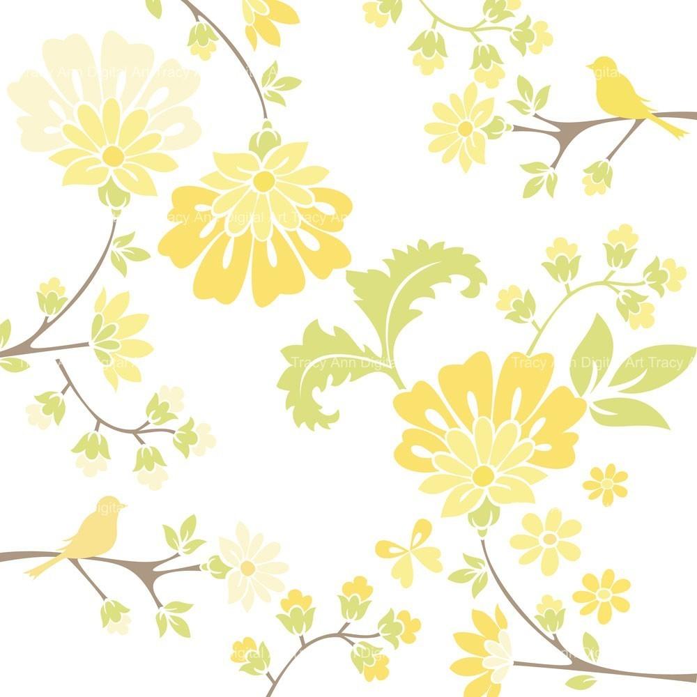 Wddding floral clip arts 3