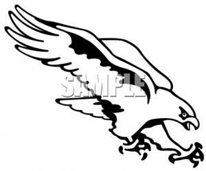 Falcon clip art 2