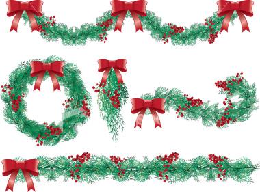Garland december 9 strawberrysweetdream clipart