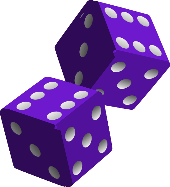 Bunco dice clipart free clipart images