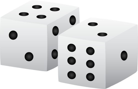 2 dice clipart free clipart images image #29012