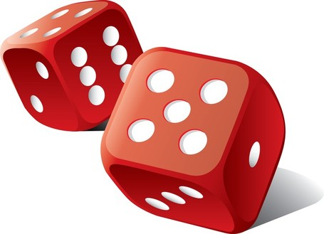 Dice clip art vector dice graphics image #29020