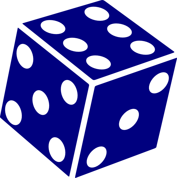 Dice clipart clipart