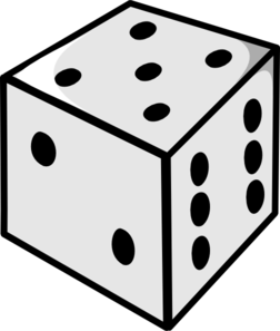 Dice downloads free clipart images