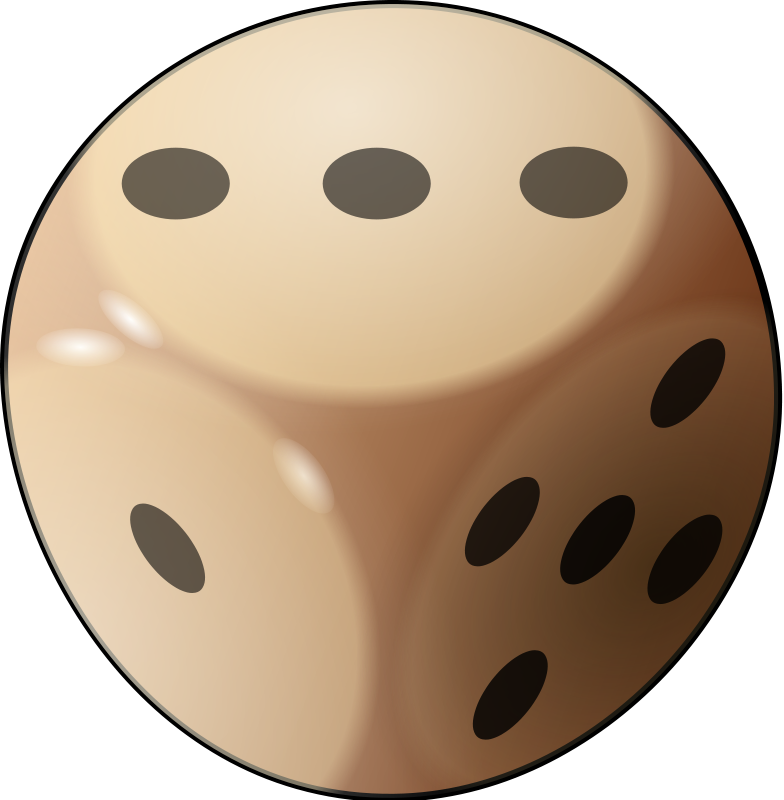 Dice free to use  clipart 2