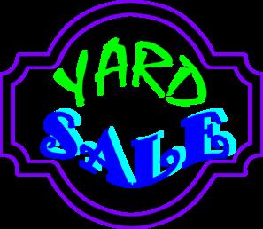 Free yard sale clip art clipart 2
