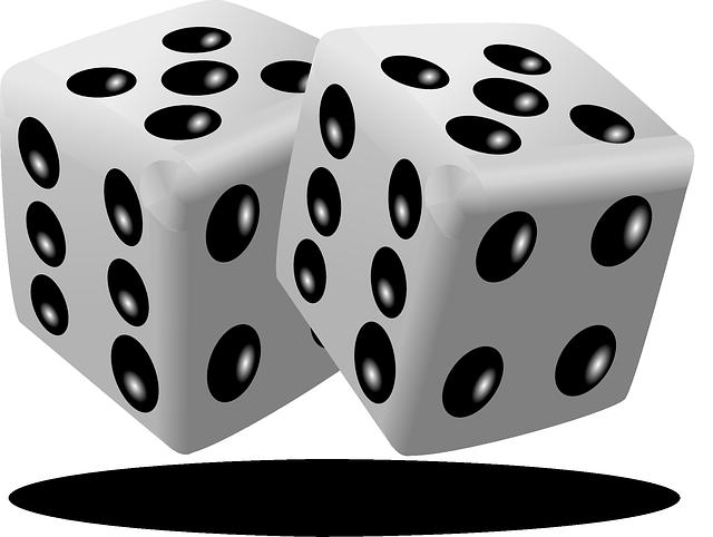 Pair of dice clipart