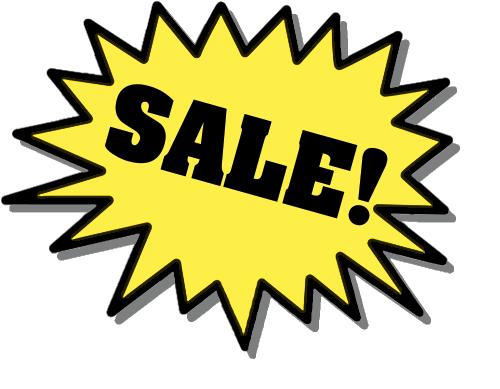 Sale clip art free 2