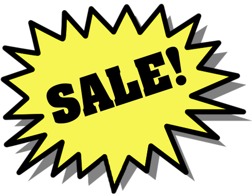 Sale clip art free