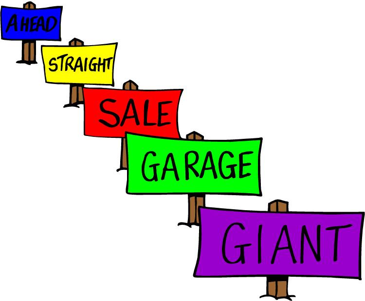 Yard sale clip art clipart