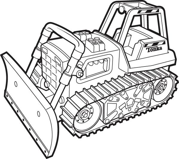 Bulldozer clip art quad gratuit dromgde top