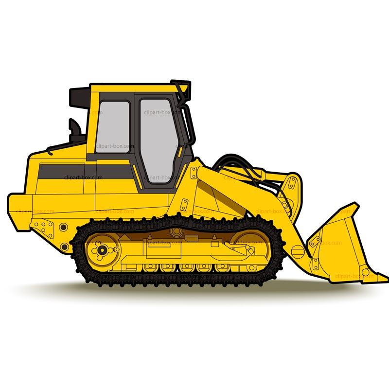 Bulldozer clipart dromgdi top
