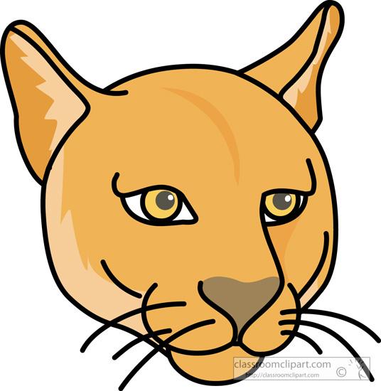 Cougar clip art 3