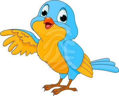 Birdie cartoon clipart