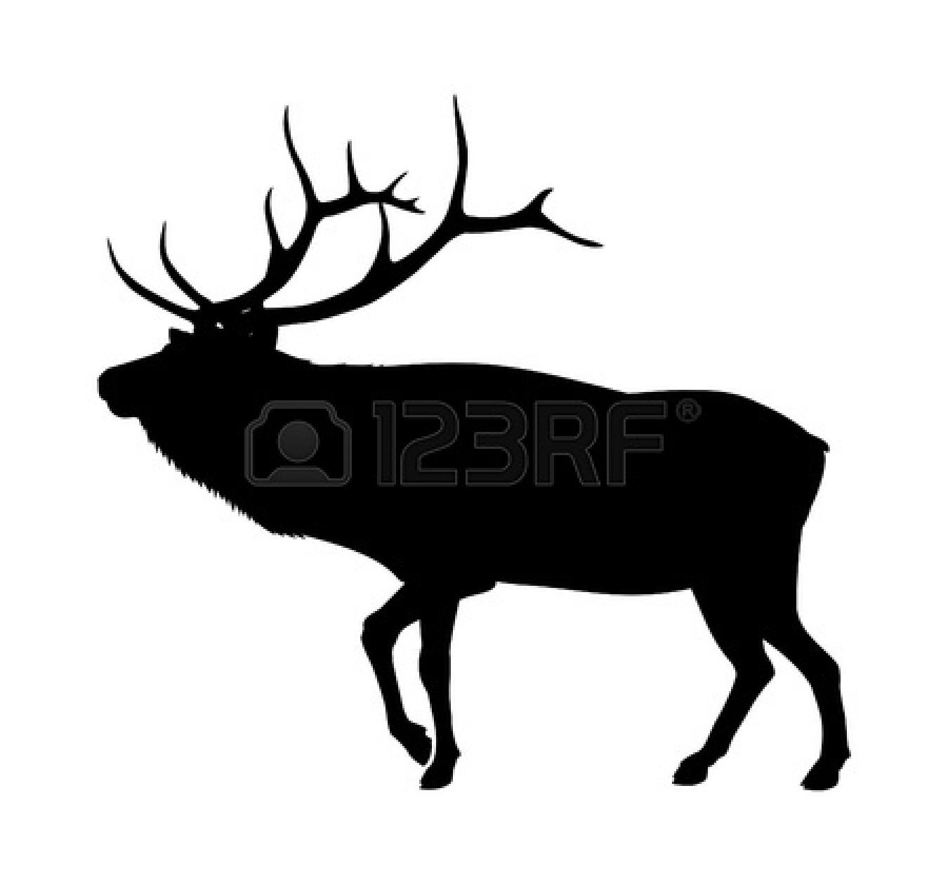 Elk clip art 3