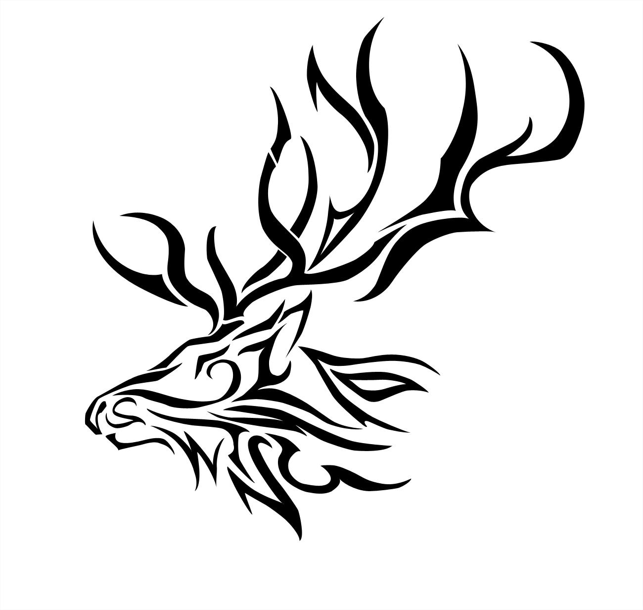 Elk coloring page cmsalmon clip art