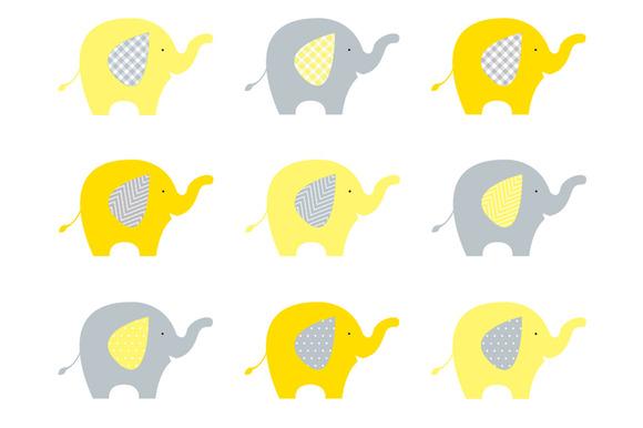 Cute elephant baby elephant clip art