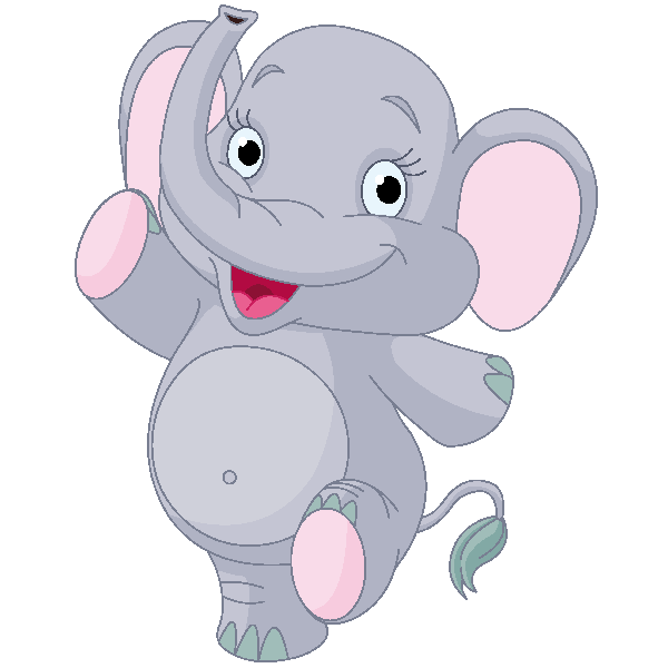 Cute elephant elephant images clip art 2
