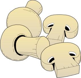 Free mushroom clipart clip art image 1 of