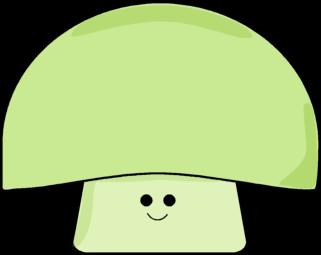 Green mushroom clip art green mushroom image