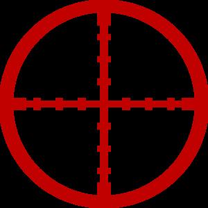 Bullseye red snipper target clip art at clker vector clip art