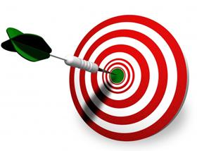 Bullseye target clipart 2