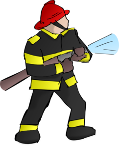 Fireman clipart 2
