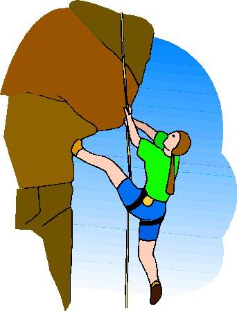 Rock climbing climbing clip art 2