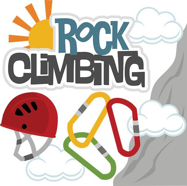 Rock climbing svg files for scrapbooks cuttable scrapbook svg clipart