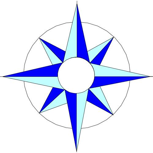 Compass clip art 2