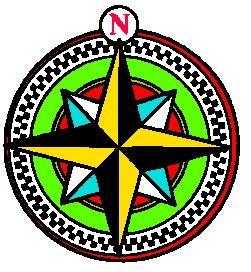 Compass clip art 6