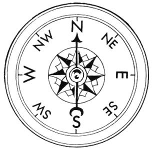 Compass dial clip art download