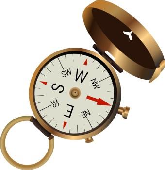 Compass navigationpass clip art