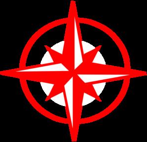 Compass redpass art clipart