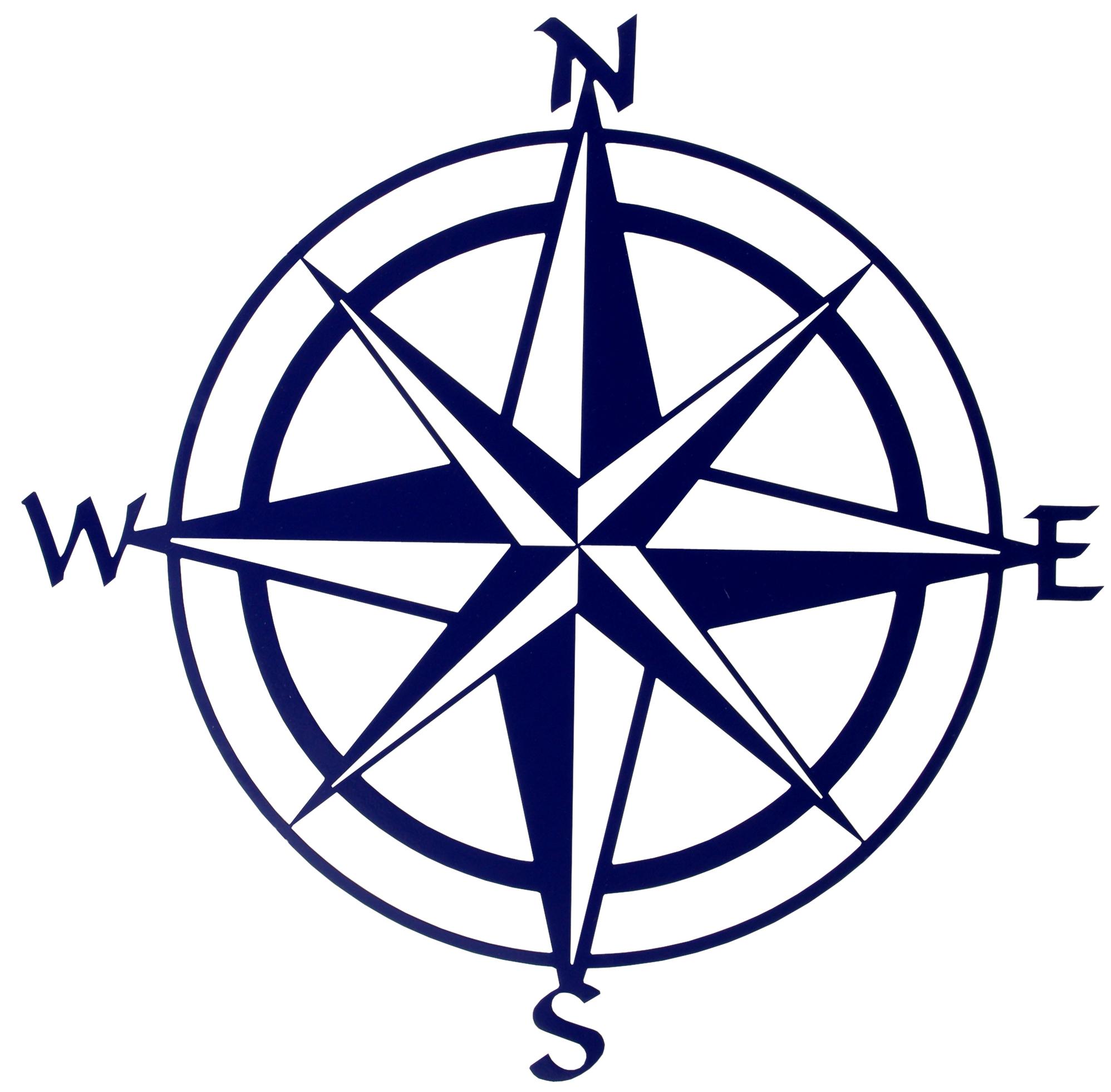 Compass star clipart