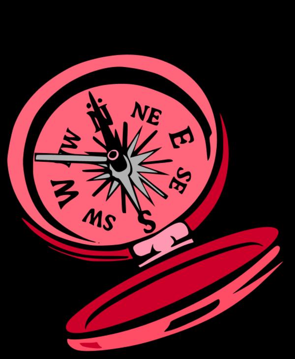 Compass vector clip art