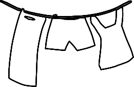 Free laundry clipart clip art image of 3