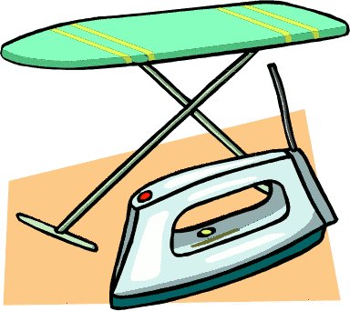 Free laundry clipart clip art image of