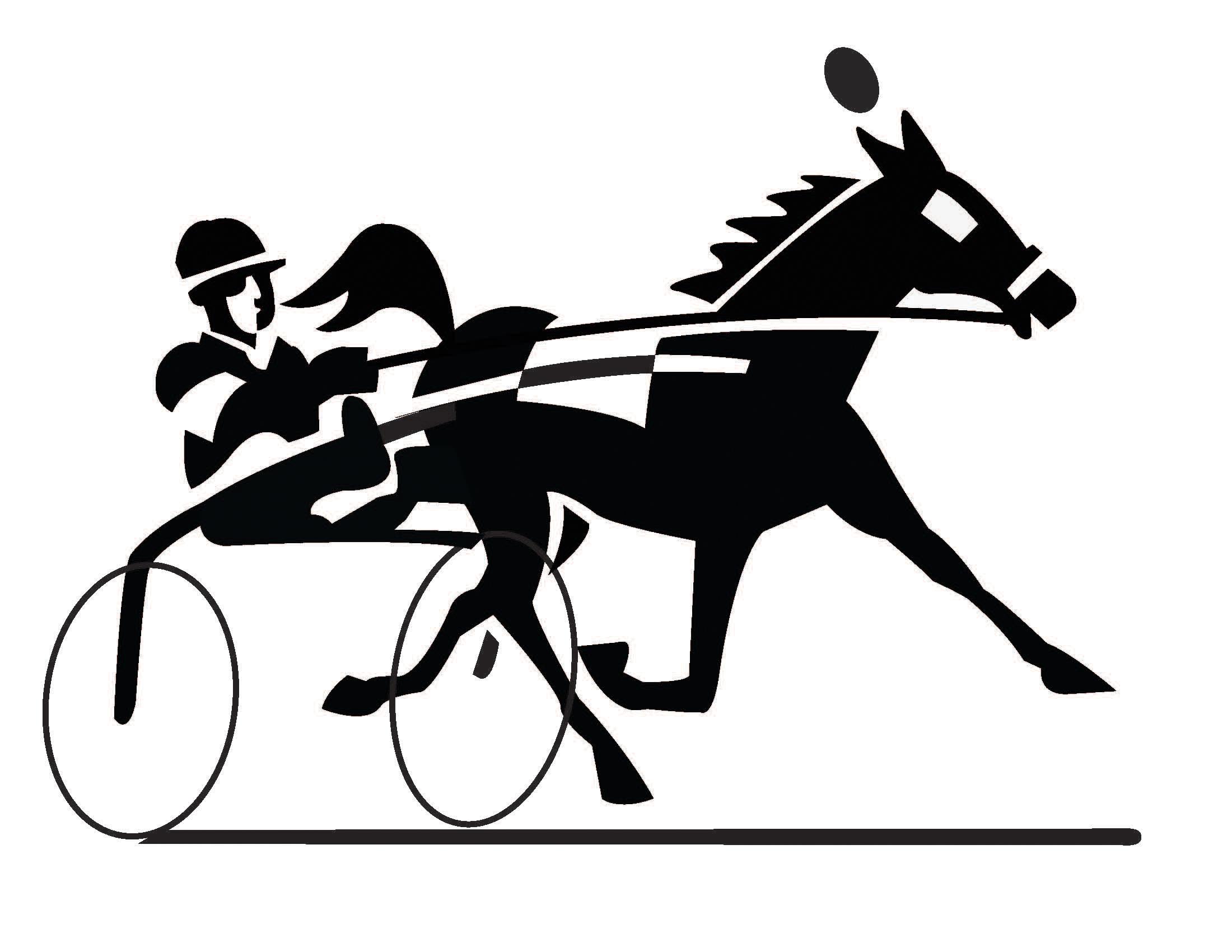 Horse racing racing clip art free