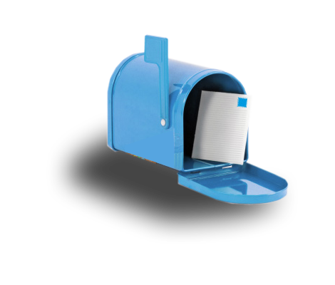 Mailbox blue mail clipart home dayasrioa top
