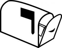 Mailbox mail clip art free vector vectors deluxevectors